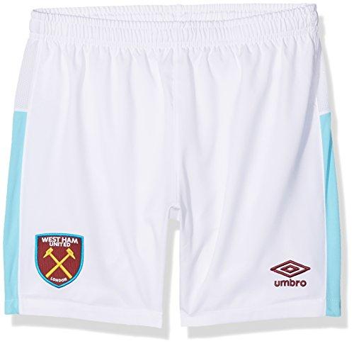 Umbro niño West Ham United Home Replica–Pantalones Cortos de jóvenes, Grande