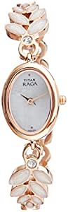 Titan Raga Analog Mother of Pearl Dial Women's Watch- 2511WM02