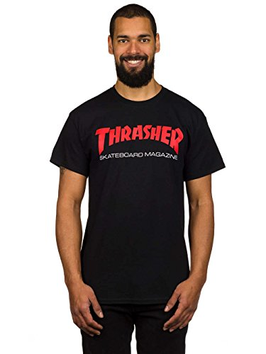 Herren T-Shirt Thrasher Two Tone Skate Mag T-Shirt Black