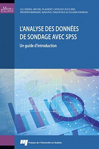 L'analyse des données de sondage avec SPSS : Un guide d'introduction par Collectif