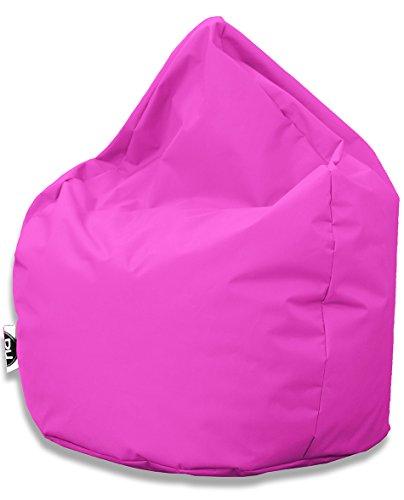 Sitzsack Tropfenform für In & Outdoor | XXL 420 Liter - Pink - in 25 versch. Farben und 3 Größen