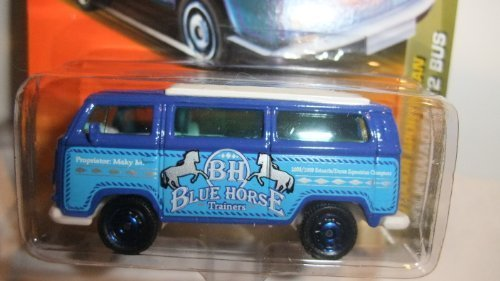 MATCHBOX 2011 BH BLUE HORSE TRAINERS OUTDOOR SPORTSMAN VOLKSWAGEN T2 BUS by MATCHBOX