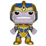 DS- Juguete Modelo - Funko Pop Avengers 3 Silicone Thanos Doll 14cm...