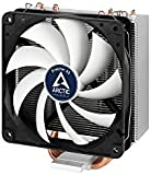 Arctic Freezer 33 - Semi passive Tower CPU cooler for Intel 115X/2011-3 and AMD AM4 with 120 mm PWM Fan, Silent high performance cooler - Grey/Black