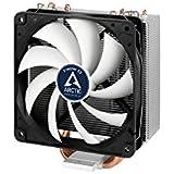 Arctic Freezer 33 - Semi-passiver Tower CPU Luftkühler, Prozessorlüfter für Intel und AMD Sockel bis 320 Watt Kühlleistung, Cooler mit 120 mm PWM Lüfter - Leise und Effizient