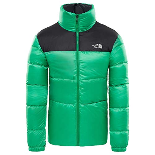 The North Face M Nuptse Iii Jacket Primary Green/Tnf Black XS -