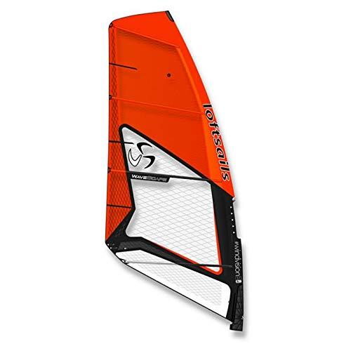 The Lofsails Windsurf Wavescape 2020 - Vela, Naranja, 4,2