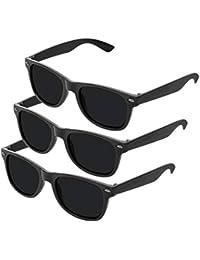 Nerd Sonnenbrille im Klassiker Stil Retro Vintage Unisex Brille - Boolavard TM
