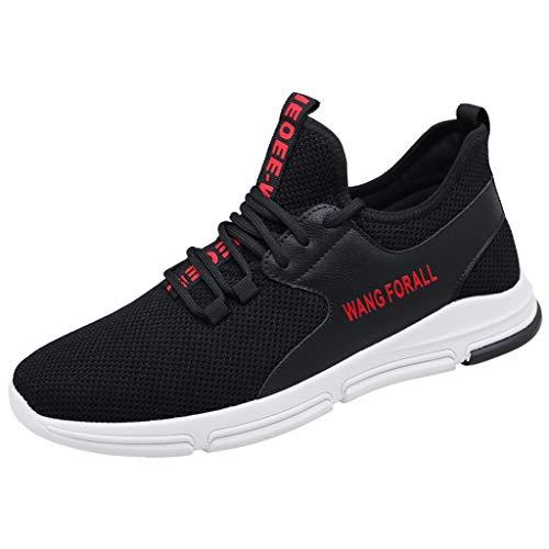 KERULA Men Sneaker,Outdoor Sports Mesh Herren Schuhe Casual Sneakers Fashion Laufschuhe Unisex Low-Top Sportschuhe Elastische Basketballschuhe -