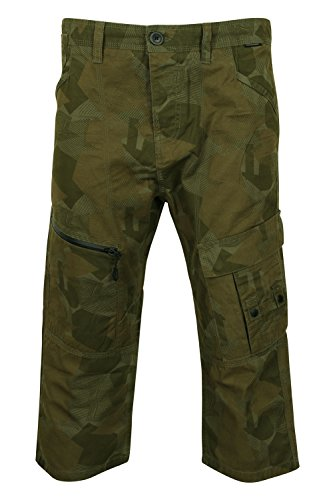 Dissident Herren Cargo Short grün grün Small Gr. Small, Digital Camo - Green (Short Camo Digital)