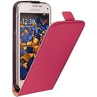 mumbi Flip Case für Samsung Galaxy S5 Mini Tasche pink