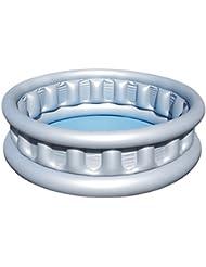 Bestway - Piscine gonflable pataugeoire ronde Soucoupe Volante diamètre 152 cm x 43 cm.
