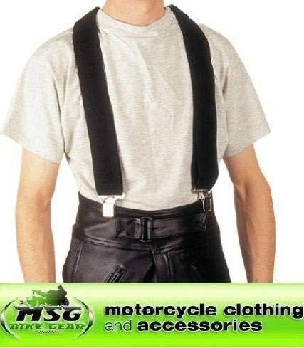 Bike It moto-brace tirantes negro: Rider accesorios
