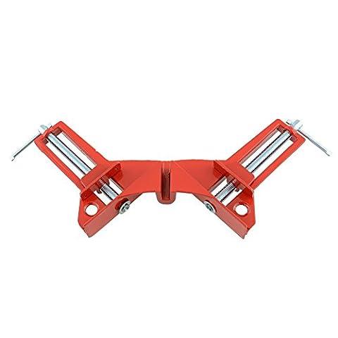 soviton 90Grad rechts Winkel Winkelmesser Hand aufspannung für Bild Ecke Klemme Holz-Aluminium