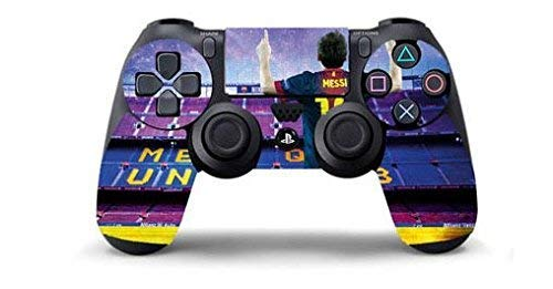 MESSI BARCELLONA B Skin Cover Joystik PS4 HD CONTROLLER WIRELESS DUALSHOCK 4 PLAYSTATION 4 limited edition DECAL ADESIVA