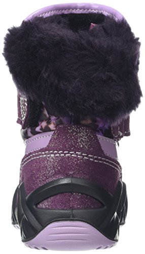 Primigi Xenia-E, Chaussures Marche Bébé Fille Rouge - Rot (Bordo/Melan-Lil)