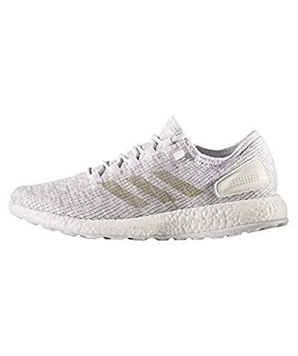 Adidas Pureboost Zapatos para Correr Hombre Blanco, 36 2/3
