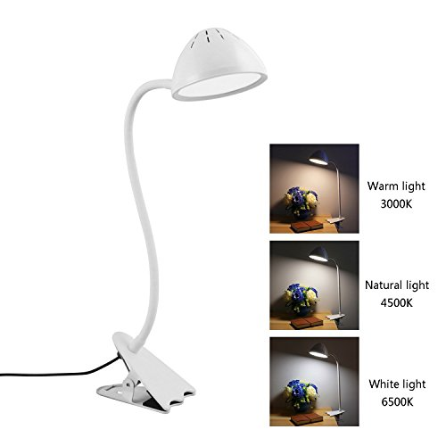 Lámpara De Escritorio LED Luz De Lectura De Clip