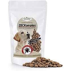 AniForte de Zeck vía Snack 150g-Producto Natural para Perros de Snack-Cartel de protección contra garrapatas y Otros Plage Fantasma con schwarzkümmelöl ID: 507Q 03