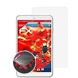 atFolix Schutzfolie passend für Blaupunkt Polaris 808 Folie, entspiegelnde & Flexible FX Bildschirmschutzfolie (2X)