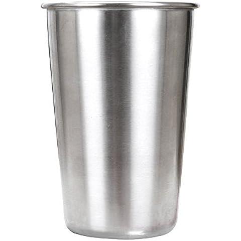 asentechuk® 500ml in acciaio inox birra tazza bicchiere latte caffè tazza Home Bar Drinkware, campeggio, escursionismo