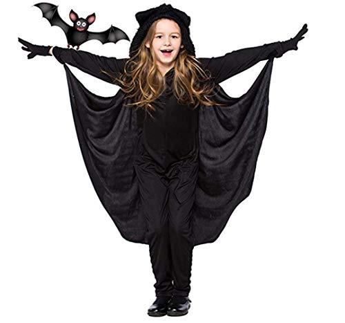 GJ688 Jungen und Mädchen Kinderleistungen Overall Tier Fledermaus Modellierung Kostüme Halloween-Party Rollenspiele Kostüme, - Kleinkind Jungen Armee Kostüm