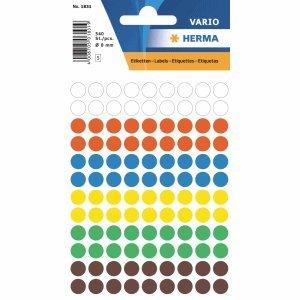 10-x-herma-vielzweck-etiketten-8mm-farblich-sortiert-ve540-stuck