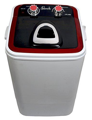 LONIK LTPL4060 Portable Mini Washing Machine 4.6 Kg Wash & 2 Kg...