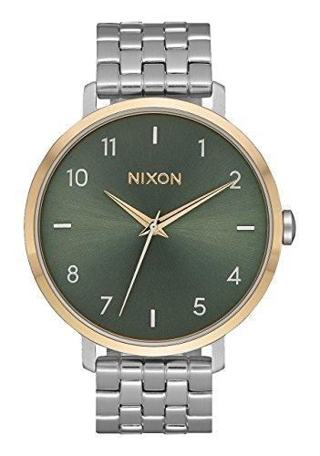 Nixon Orologio Analogico Quarzo Donna con Cinturino in Acciaio Inox A1090-2877-00