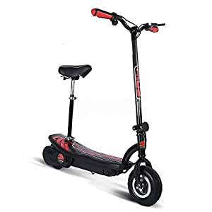 powerzass foldable top electric e scooter adult kids 250w. Black Bedroom Furniture Sets. Home Design Ideas
