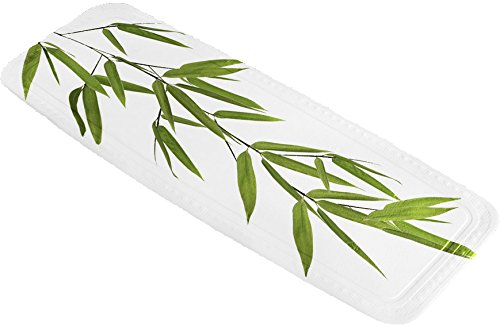 Kleine Wolke 5380600001 Wanneneinlage Bamboo, 36 x 92 cm, grün