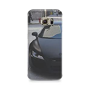 Printed back cover for Samsung Galaxy S6 Edge Plus by Motivatebox.Car design, Polycarbonate Hard case with premium quality and matte finish