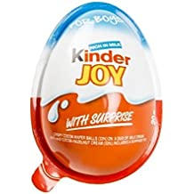 2 Boxes (6 Eggs) Surprise Chocolate JOY for BOY by Kinder Joy
