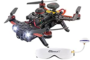 XciteRC 15003770 – Racing Runner 250 Advance RTF Quadcopter Drone FPV with HD Camera from XciteRC