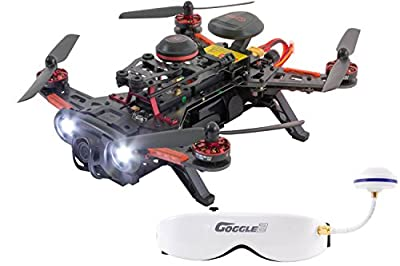 XciteRC 15003750 - Racing Runner 250 Advance Quadcopter Drone RTF with Full HD FPV Camera