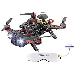 Piercing 15003750FPV Dron cuadricóptero de carreras, 250Avance RTF, con Full-HD cámara