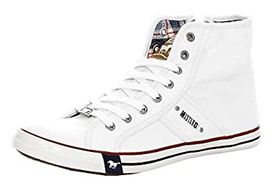 Mens 4058-504-1 Hi-Top Trainers Mustang H2sXe6U