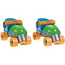 Fisher-Price - 1-2-3 - Patines de 4 ruedas para niños [Importado de Alemania] (Mattel)