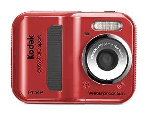 Kodak Easyshare Sport C135 Appareils Photo Numériques 14.3 Mpix Zoom Optique 1 x Rouge