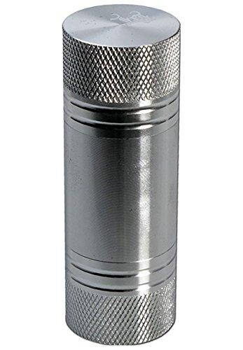 patchouliworld-pressa-per-poliini-black-leaf-misura-m-steel-silver-h-60mm-oe-26mm