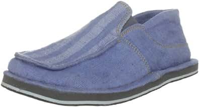 Solerebels Men's Purelove Maxin Slippers Blue 4 UK