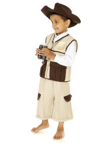 Safari Ranger - Kinderkostüm Größe: 3-5 Jahre (Safari Kostüm Ranger)