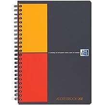 OXFORD 100103165 Adress-Buch International DIN A5 für mehr als 1.000 Kontakte - clevere Organisation
