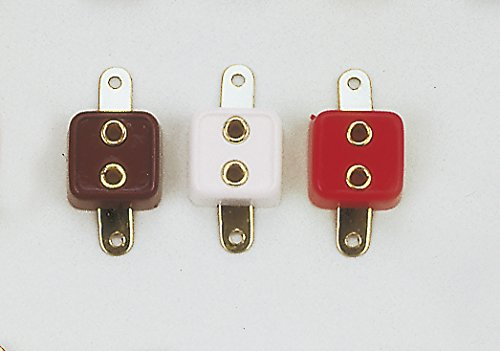 Quadratischen Sockel (rulke rulke0676314–10er weiß quadratisch Sockel (10))