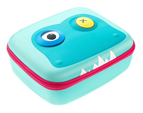 Brillenetui, Beast Box, von Zipit, blau Lunchbox hellblau