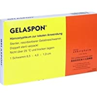 GELASPON 1 Streifen 8,5x4x1 cm, 1 St preisvergleich bei billige-tabletten.eu