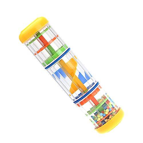 Galleria fotografica ammoon Bastone della Pioggia 8 pollici Giocattolo Musicale per Bambini Giochi KTV Festa