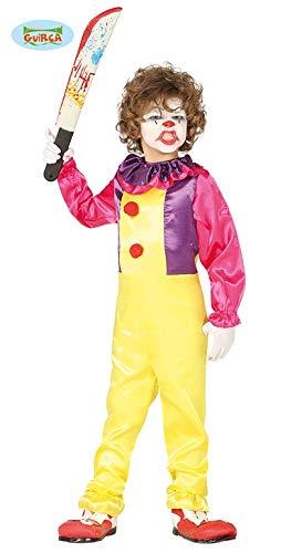 Kostüm Clown Kinder Mörder - Kostüm Clown Kinder-Mörder - Niño, de 5 a 6 años, Halloween