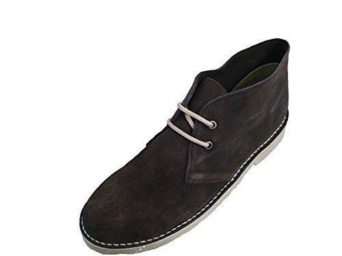 Roamers ,  Unisex - Erwachsene Desert Boots Dunkelbraun