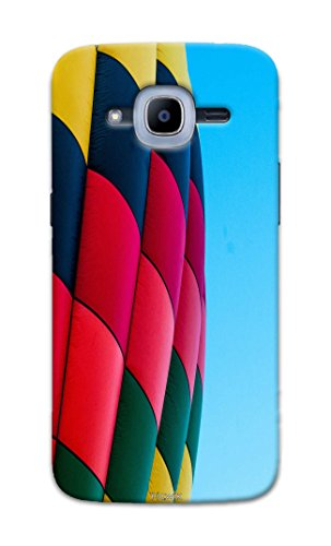 Picwik Designer Printed Back Cover / Hard Case for Samsung Galaxy J2 Pro (2016) (Hot air balloon Design/Colourful) - Multicolor - D286  available at amazon for Rs.259
